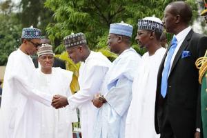 Speaker Dogara and President Buhari