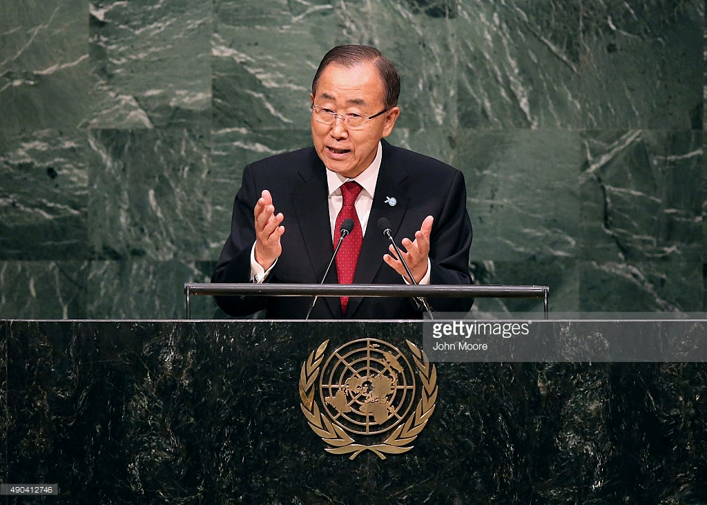 Banki-Moon the international Security Chief monitor
