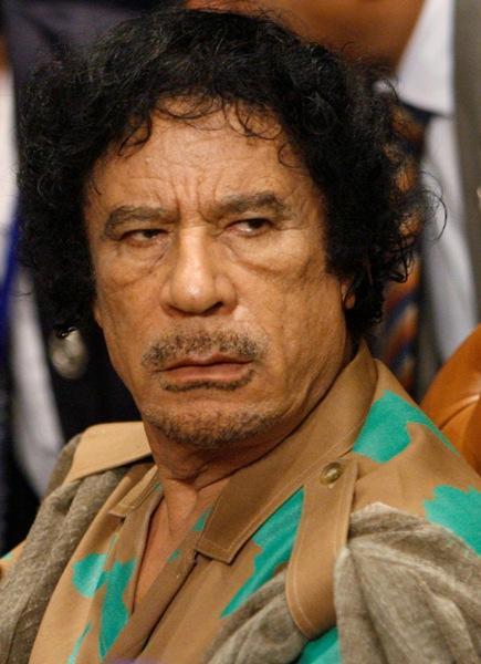 Muammar Gaddafi, Late Libyan Leader.