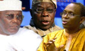 Obasanjo,Atiku & el-Rufai