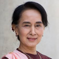 Aung San Suu Kyi,  Myanmar women leader