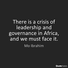 Good Governance is our right, not a privilege
