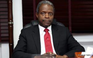 Vice-President Yemi Osinbajo