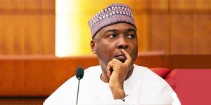 New helsmen of the ASUU-FG Conflict and Senate President, Bukola Saraki