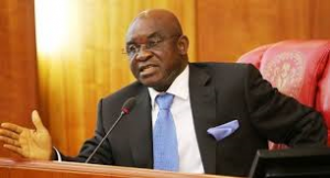 Senator David Mark, immediate past Senate President