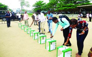The peaceful part of 2015 General Election in Nigeria