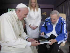 With Pope Francis in Sept 2015