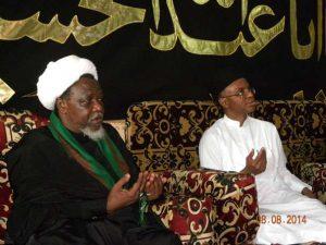 Sheikh-El-Zakzaky and Governor Nasir-El-Rufai of Kaduna State