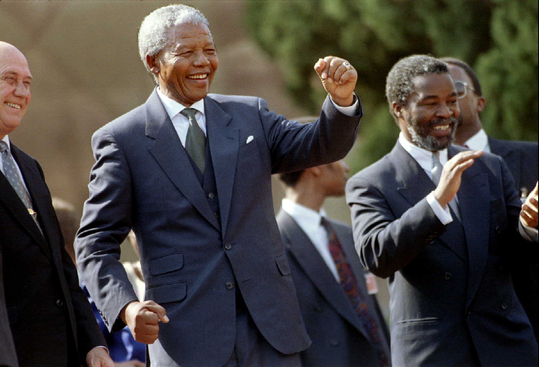 Explaining Mandela's Strategy in 1994
