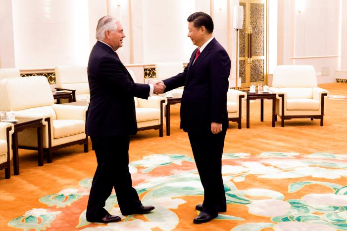 US-China Off to a Calm Start After Disquiet on US Threat of Military Option Against North Korea