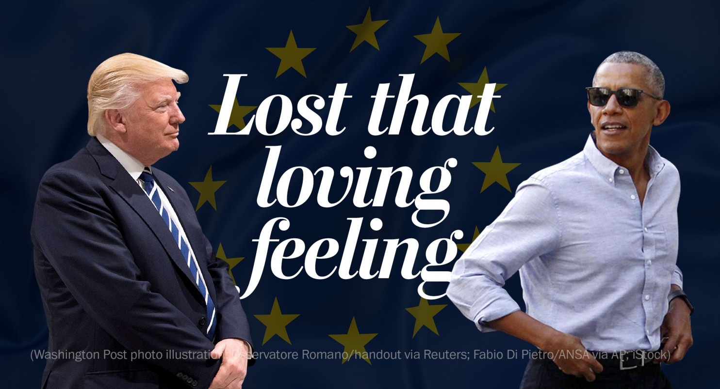 Barack Obama and Donald Trump in the Eyes of Europeans