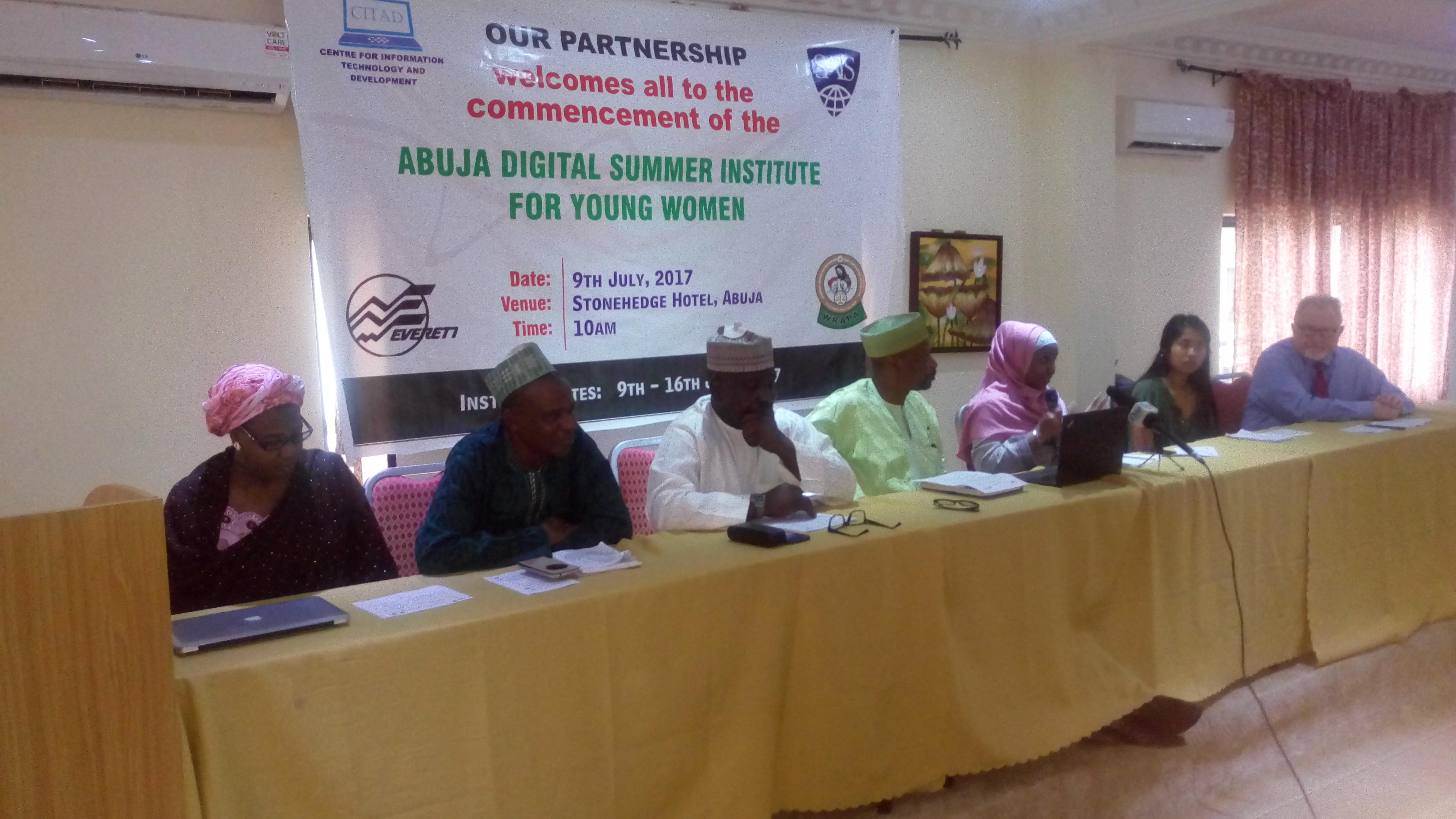 Digital Summer School for 30 Young Women Opens in Abuja