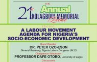 Foundation Announces 21st Annual Kolagbodi Lecture