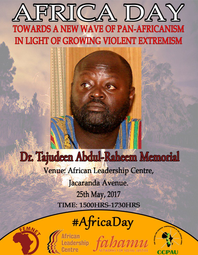 Tajudeen Abdulraheem: Epitaph for a Monument to the Struggle for Democracy in Africa