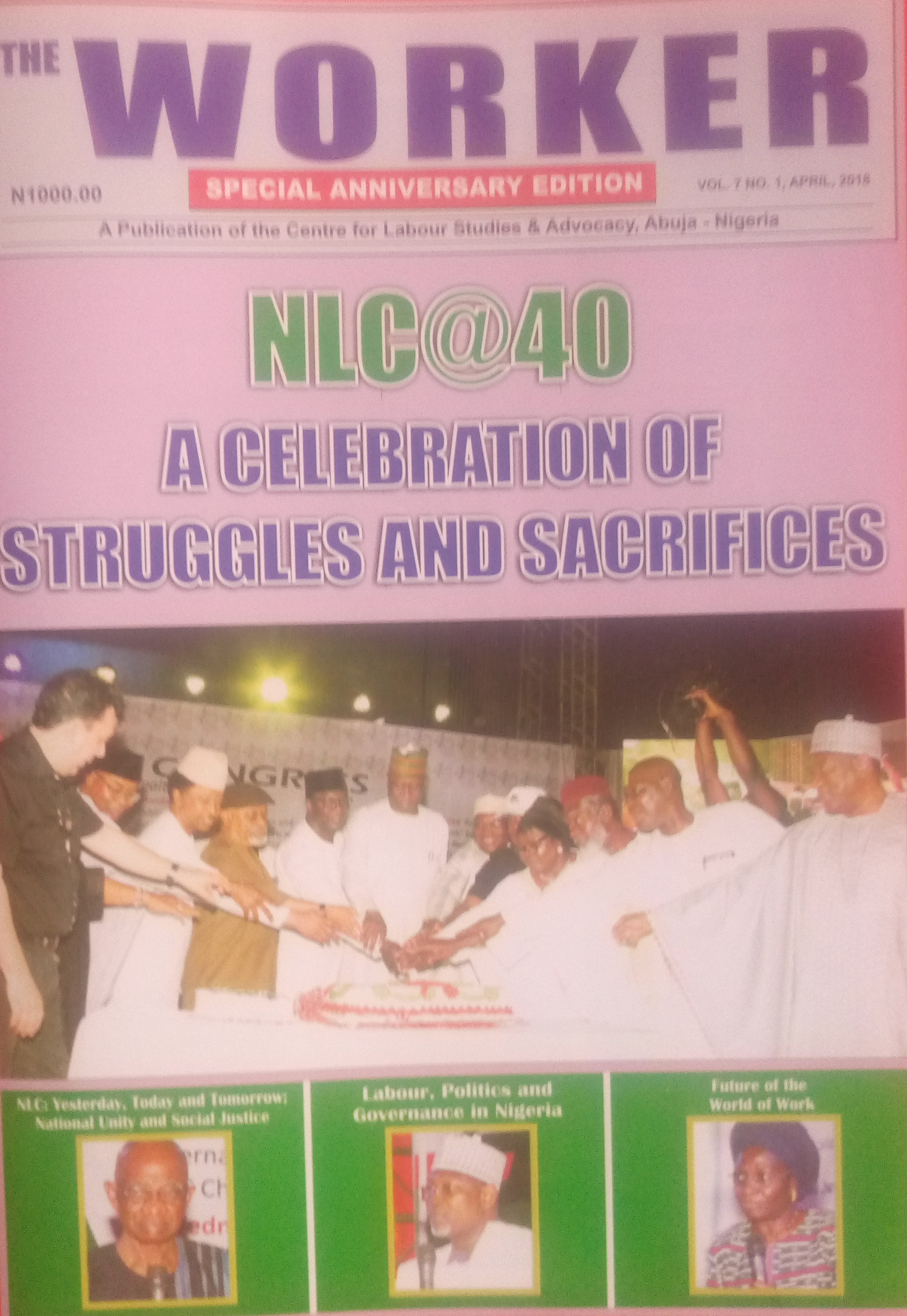 After 'NLC @ 40'