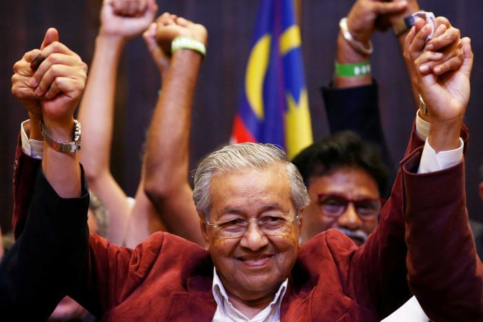 Malaysia Re-elects 92 Year Old Dr. Mahathir Mohammed