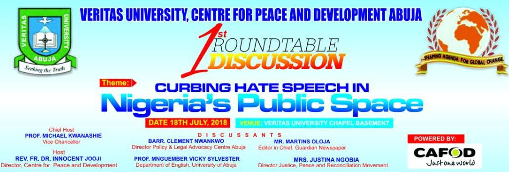 CITAD Passes the Torch to CEPAD in Nigeria's Fireworks on Hate Speeches