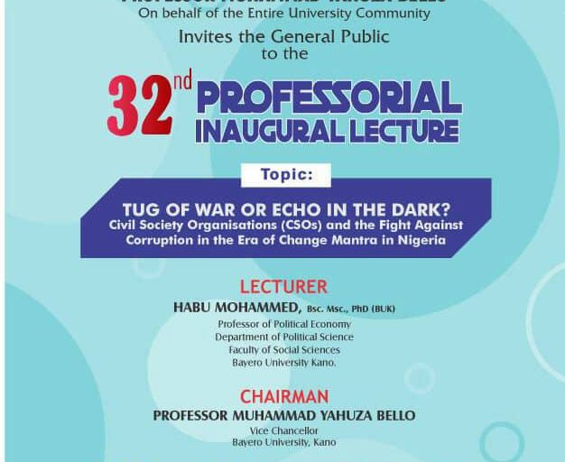 From Prof CBN Ogbogbo @ UI to Prof Habu Mohammed @ BUK