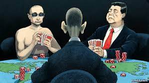 Obama, Putin & Jinping at the games nations play