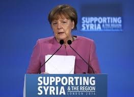 Angela Merkel of Germany