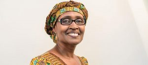 Byanyima,Exec Dir Oxfam International