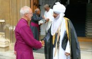 The traditional and the clerical authority in Muhd Sanusi 11's visit to Archbishop of Canterbury,UK yesterday morning