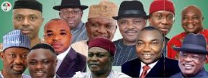 incumbent PDP governors