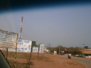 riot of signboards