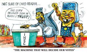 As Vanguard cartoonist saw it