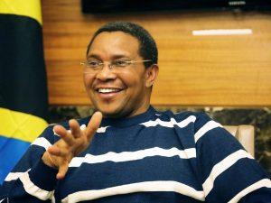 Jakaya Kikwete, immediate past president of Tanzania