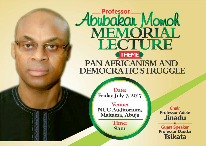Still on Abubakar Momoh: The Comrade Professor