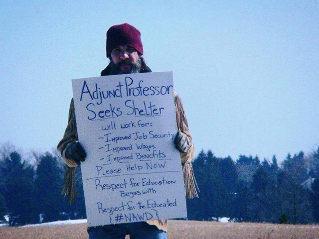Unbelievably Desperate World of Adjunct Professors in America