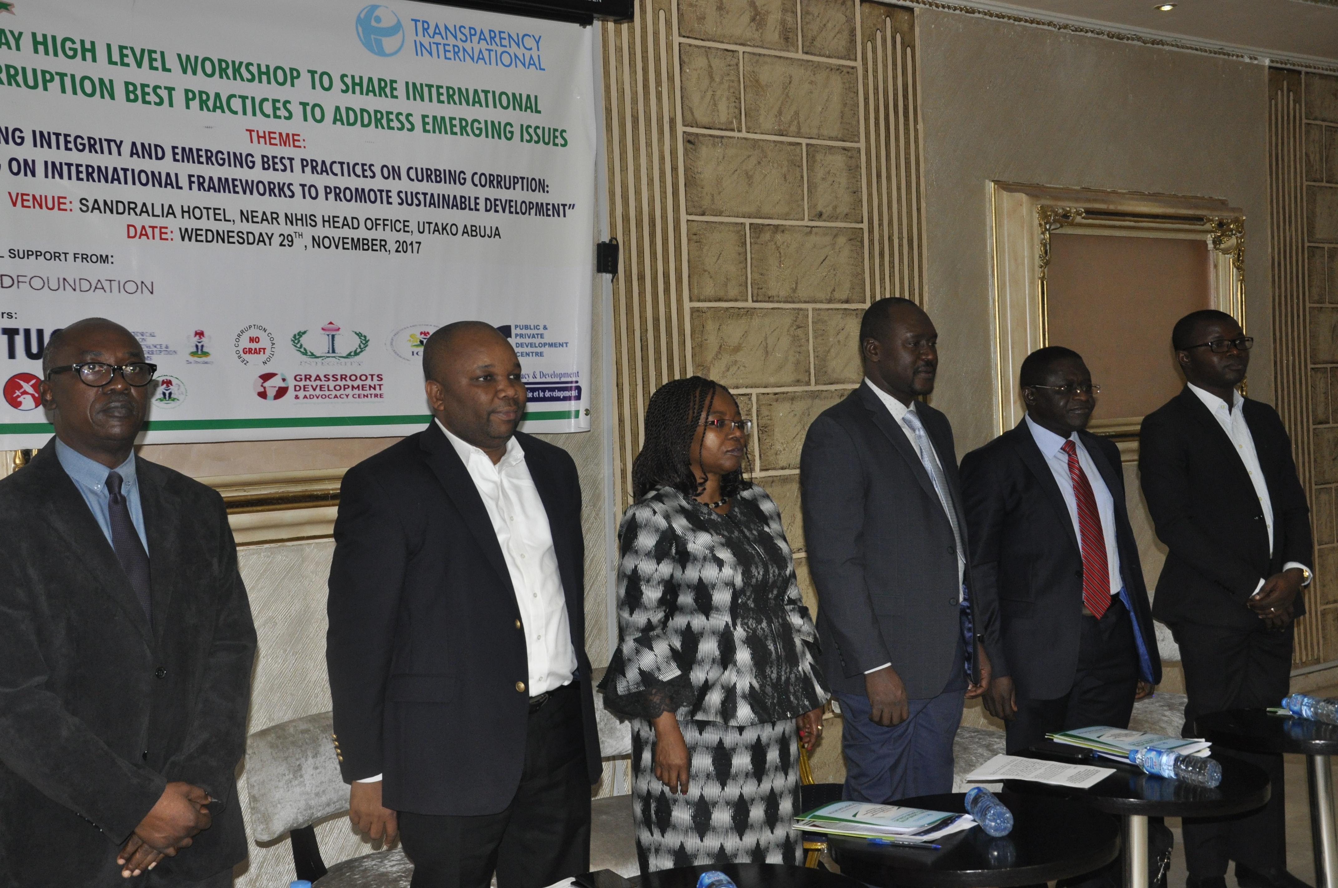 CISLAC High Level Workshop Crack International Anti-Corruption Best Practices