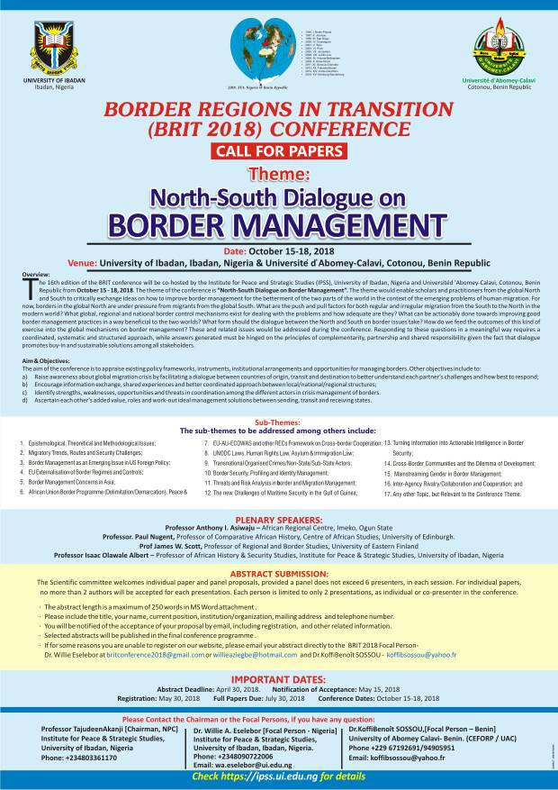 UI Raises Africa's Stakes in Border Studies and Practice