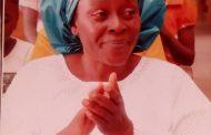 Benue Mourns Oyije Maureen Adulugba-Nyinebi