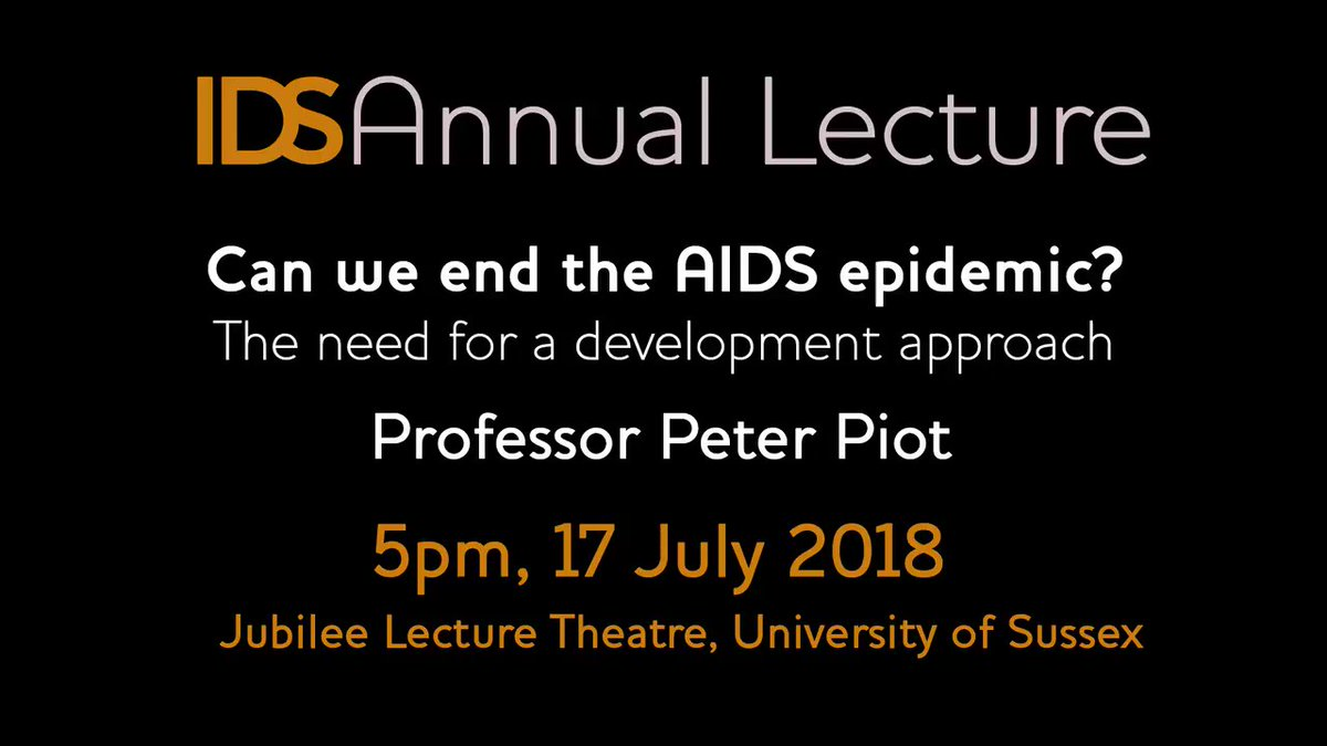 Is Peter Piot Coming With an Answer to HIV-AIDS Epidemic @ Last?