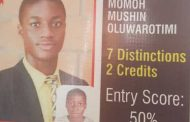 Mushin, Prof Abubakar Momoh's Son, Sets Own Academic Record