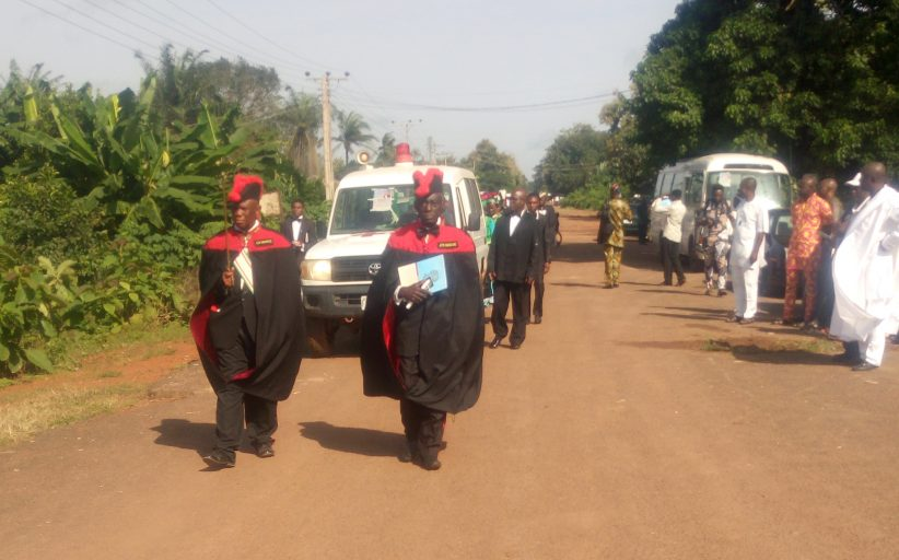 Christians, Muslims, Comrades and Knights Share Ajide Burial