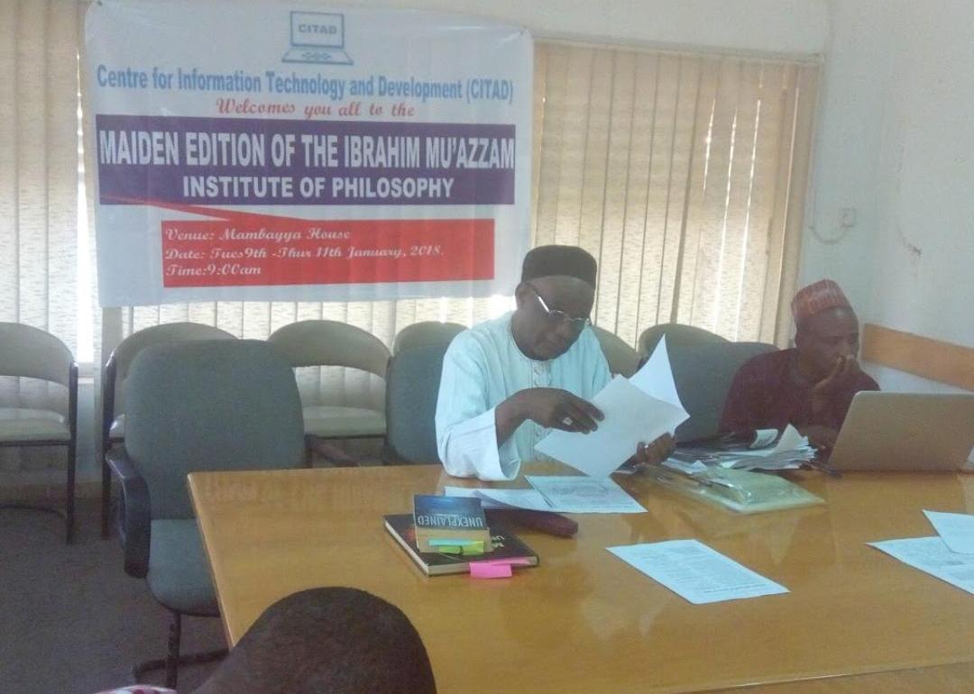 Isyaku Dikko and Yakubu Aliyu Join in Unpacking Ibrahim Muazzam