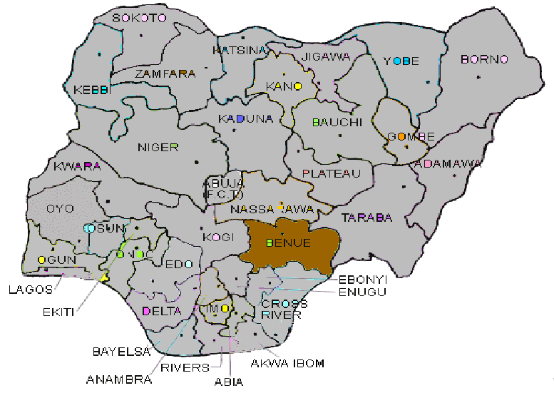 How Benue APC May Have Stumbled on Completely Undercutting ... on map of veterans, map of neighborhoods, map of history, map of ethnicities, map of american indian reservations, map of cultures, map of environment, map of housing, map of labor, map of people, map of middle east and russia, map of crime, map of countries, map of laos and thailand, map of terrorist groups, map of irish americans, map of schools, map of extreme groups, map of population growth rate,