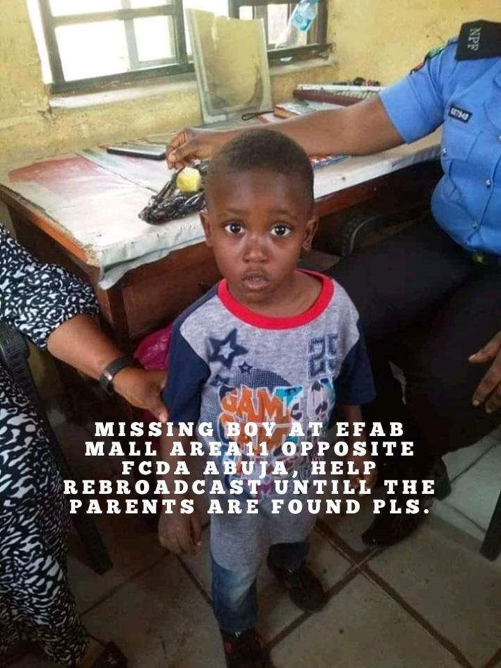 Parents of Missing Child Wanted to Claim Him