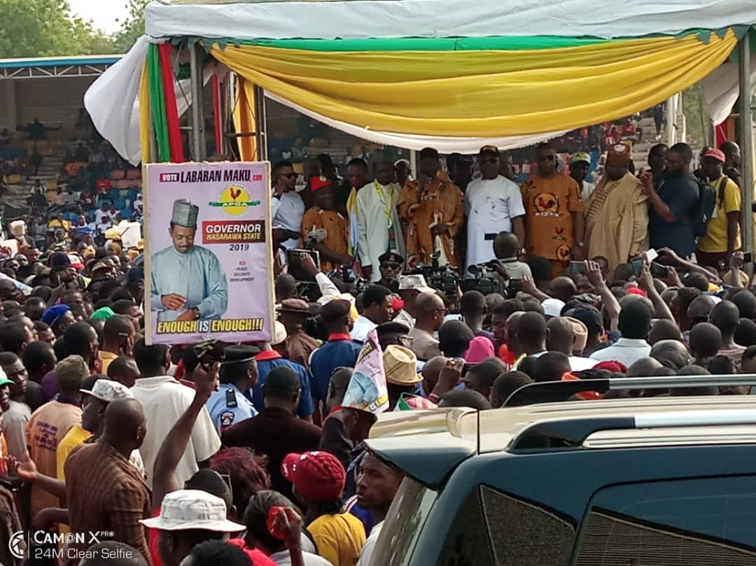 APGA Taking Over Nasarawa State, Breaking APC, PDP Monopoly of National Electoral Space?