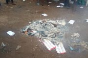 Fuller Graphics on Burning of Votes in Lagos