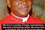 Cardinal Onaiyekan's National Summoning