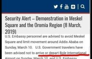 Did American Intelligence Foresee Crash of Ethiopian Airliner?