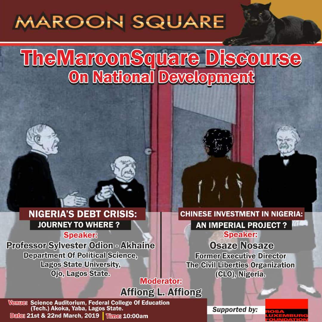 Maroon Square Debuts in Discourse Politics