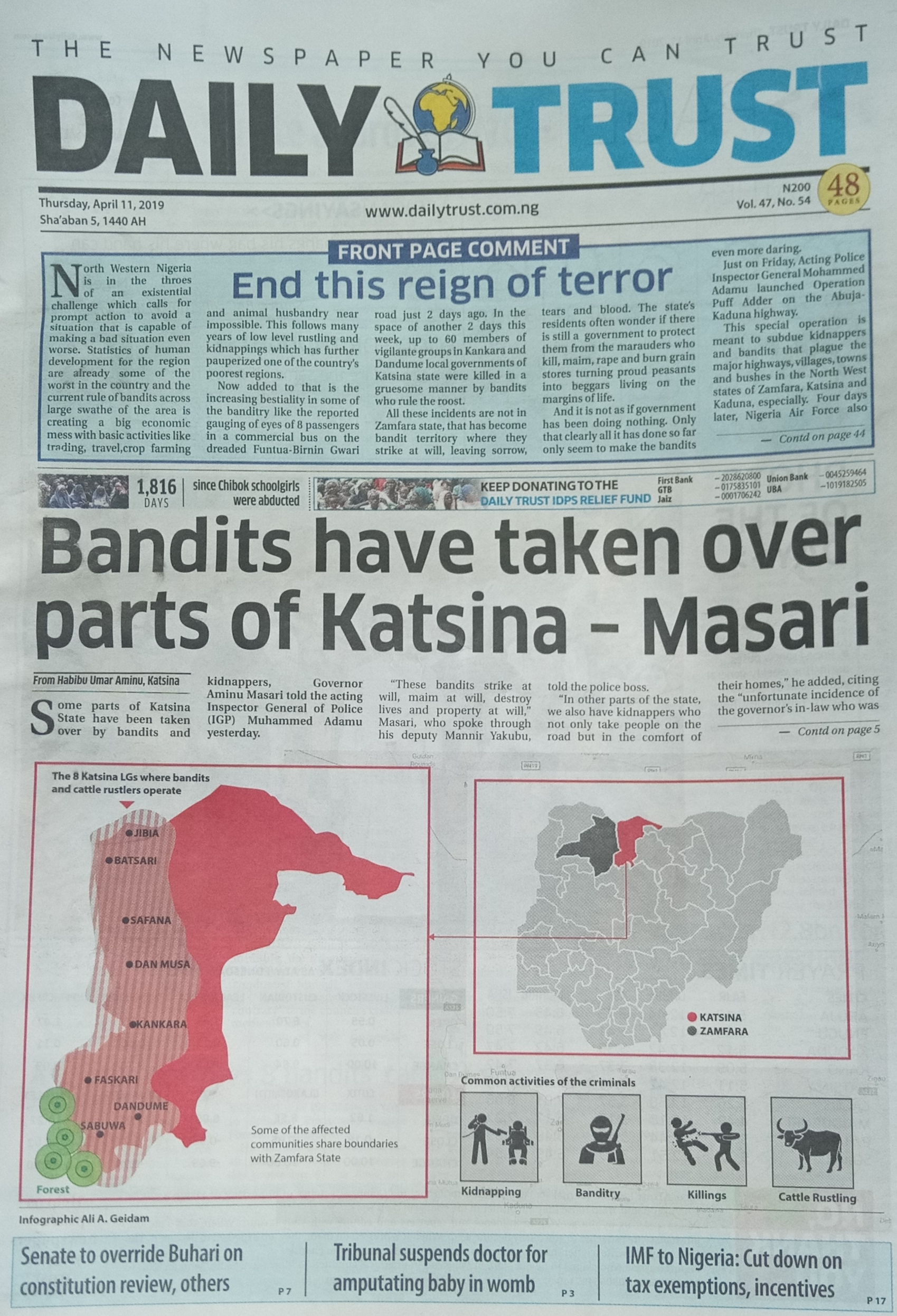 Writing Banditry in Nigeria