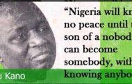Atiku-Buhari Power Tussle Interrogates Mallam Aminu Kano in Northern Politics