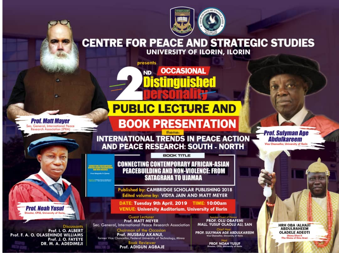 Intellectuals of Peace Crack Nigeria's Middle Belt, International Peace and One of Its Own