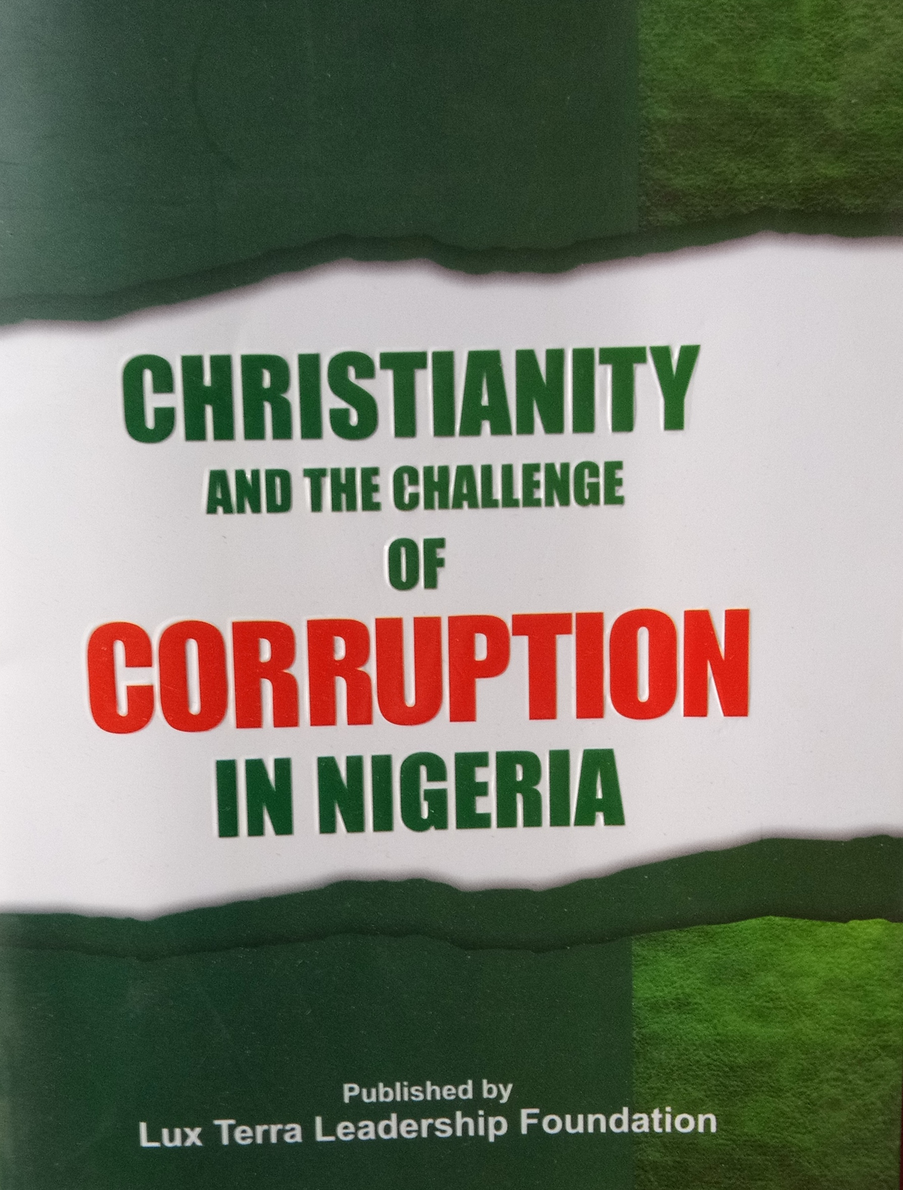 Is a 'Liberation Theology' Against Corruption Coming in Nigeria?